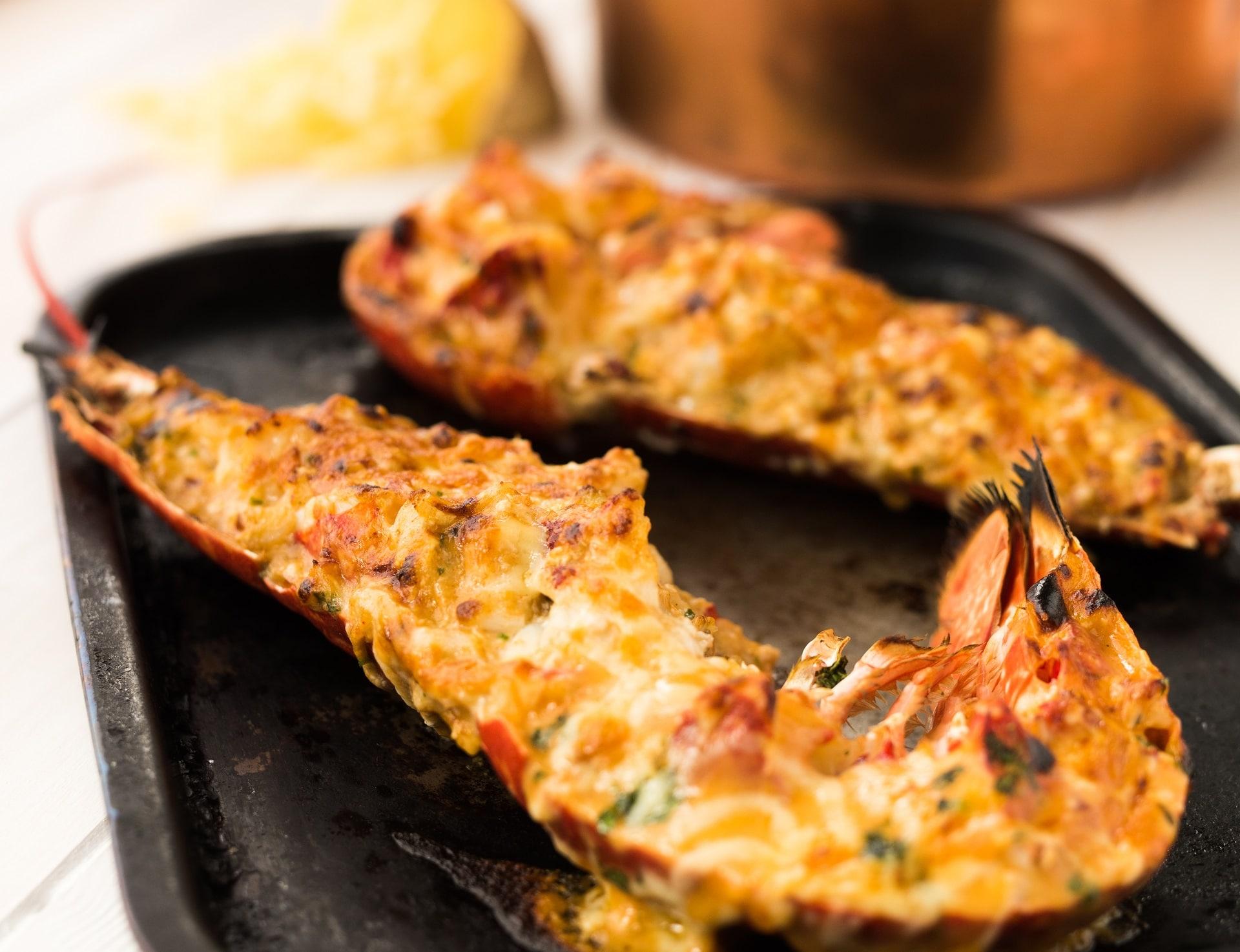 Lobster Thermidor Thermidor Sauce Recipe Village Gourmet